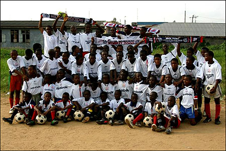 Bolton shirts in Africa