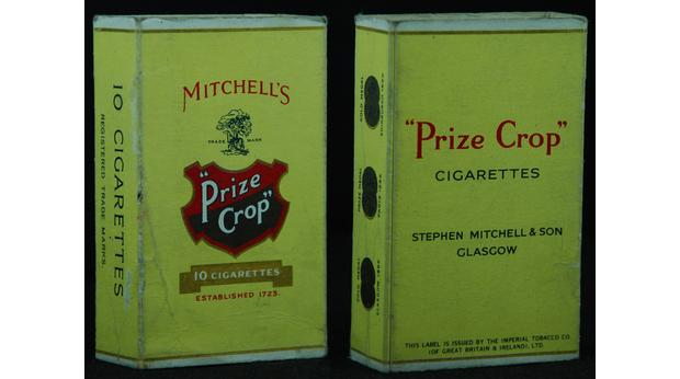Early 1900's Mitchells Cigarette Packet