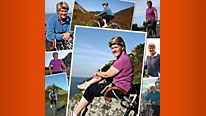 Clare Balding continues her journey around Britain By Bike