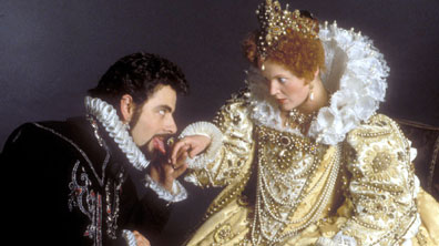Lord Blackadder and Queen Elizabeth I