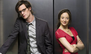 Matt Smith and Andrea Riseborough in Party Animals