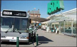 BBC Bus Hessle Road Hull