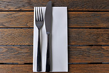fork and knife, BBC image