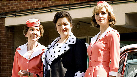 Esma Cannon (Marcia Warren), Hattie Jacques (Ruth Jones) and young actress (Susy Kane)