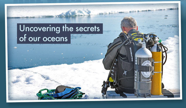 Uncovering the secrets of our oceans ©BBC