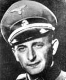 Photograph showing Adolf Eichmann in Nazi uniform