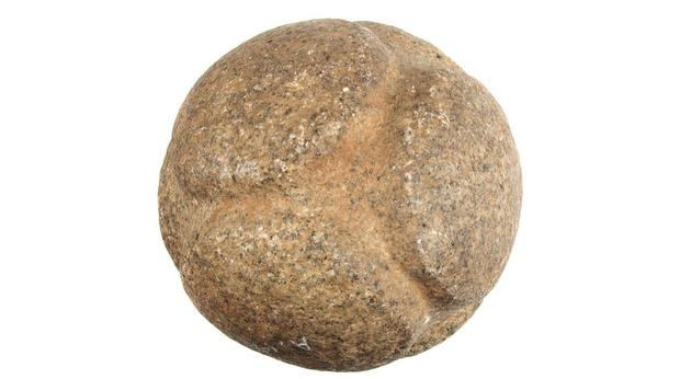 Scottish carved stone ball