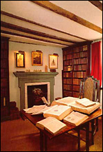 Sterne's study at Shandy Hall. Image courtesy Laurence Sterne Trust