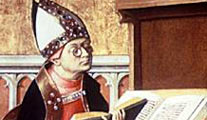 Augustine of Hippo, proponent of Christian religious Just War theory