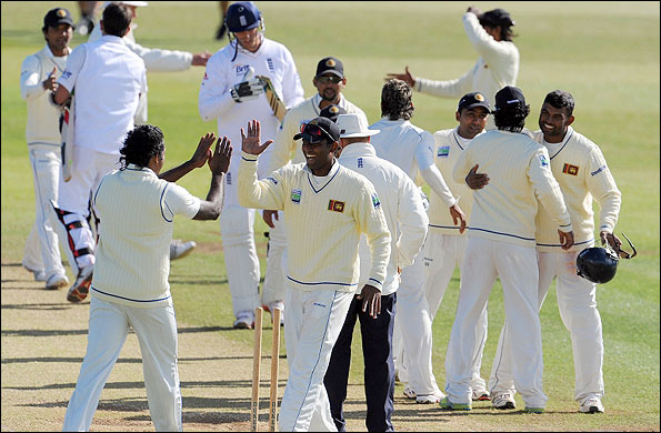 Sri Lanka winning in Derby