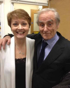 Harold Evans and Anne Diamond