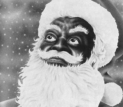 black santa - Black People Christmas