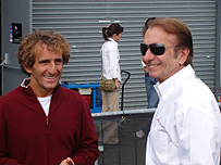 F1 legends Alain Prost and Emerson Fittipaldi