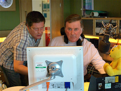 Terry, Pudsey and Producer Alan take a look at what requests are coming in.