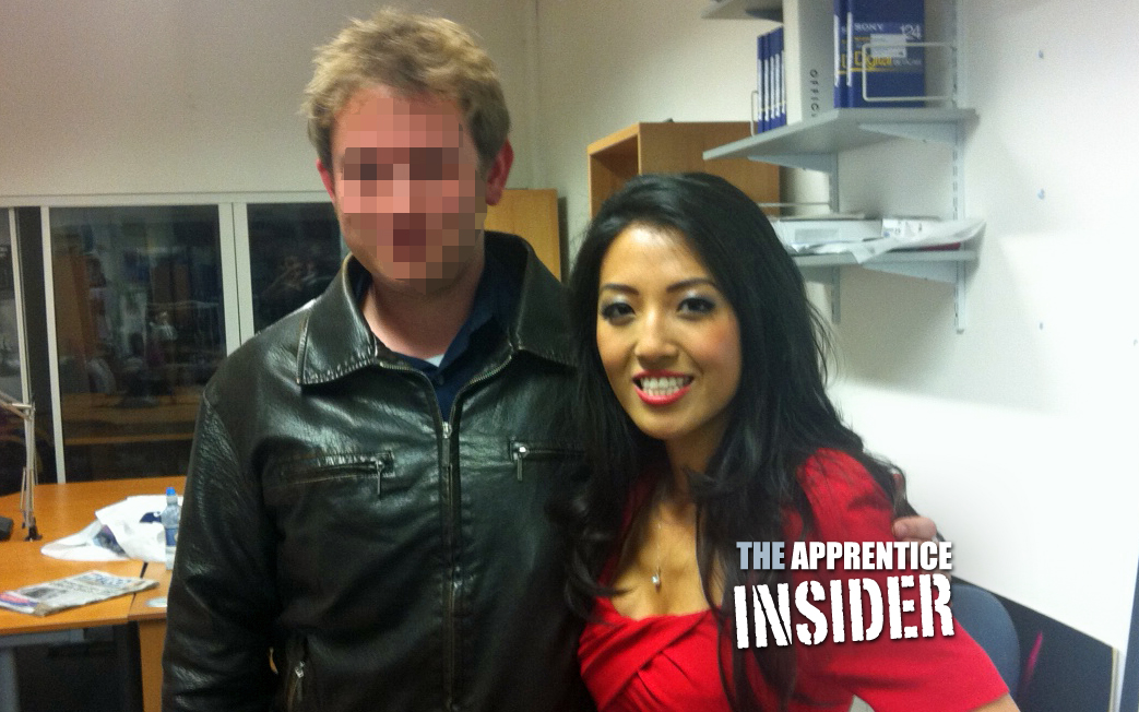 The Apprentice Insider and candidate Susan Ma.