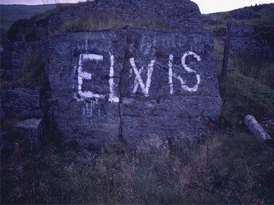 The Elvis Rock in about 1989. Photo: Gwenllian Ashley