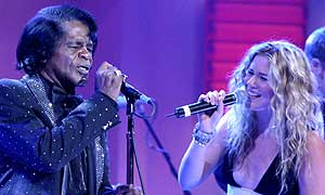James Brown and Joss Stone on Friday Night with Jonathan Ross