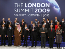 G20 summit, London 2009