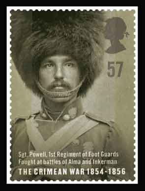 Stamp featuring Sgt. Powell