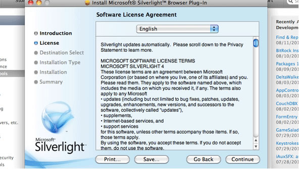 BBC - WebWise - How do I install the Microsoft Silverlight plug-in