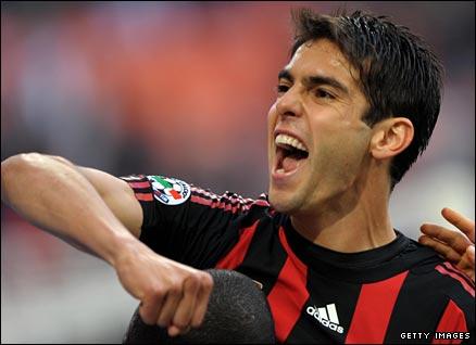 kaka is being chased by Manchester City