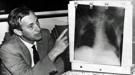 Christiaan Barnard (1922 – 2001) carried out the first successful human heart  transplant operation