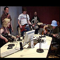 Live radio session, Radio B92, Belgrade
