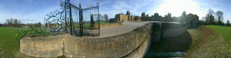 Panoramic photo of Blenheim Palace