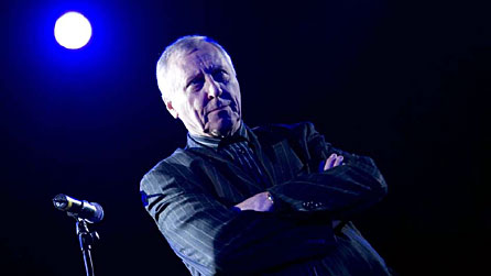 Photograph of Peter Greenaway by www.notv.com