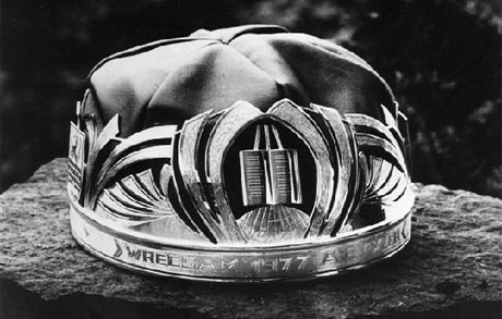 The 1977 Eisteddfod Crown © The National Eisteddfod of Wales