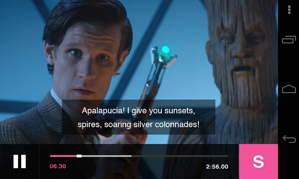 BBC Media Player in Google Play