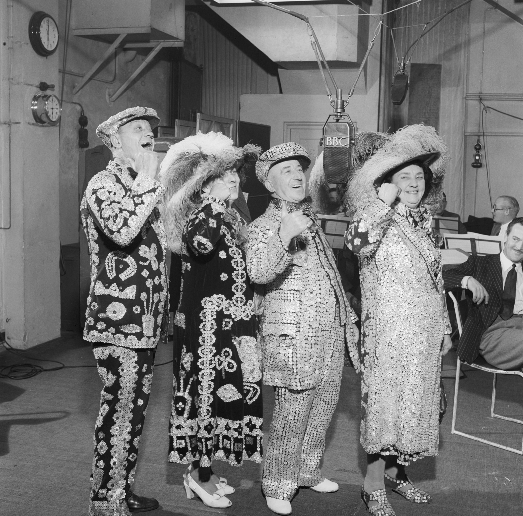 Pearly Kings and Queens in the 1940s