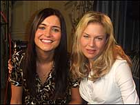 Jacey Normand and Renee Zellweger