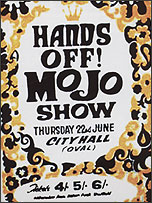 Mojo poster, by Colin Duffield (?)
