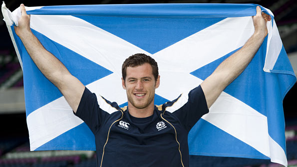 Edinburgh's Dutch wing Tim Visser has been given a call-up to the Scotland squad