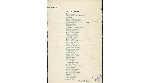 Atlantic Russian Convoys 1941-42 a Poem