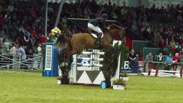 Will Funnell in the Royal Highland Show Grand Prix