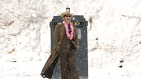 The Tenth Doctor (David Tennant) embarks on his final journey