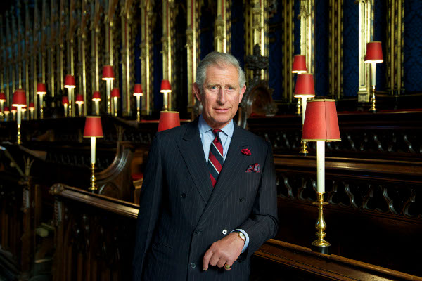 Photo of HRH The Prince of Wales at Westminster Abbey