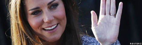 The Duchess of Cambridge, Reuters