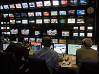 BBC news studio gallery