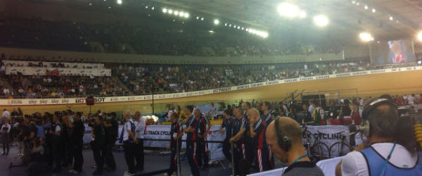London's Olympic velodrome