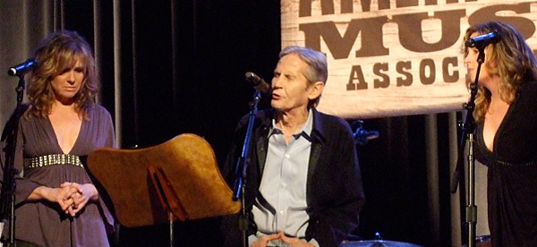 Levon Helm at the 2008 Americana Music Awards in Nashville.