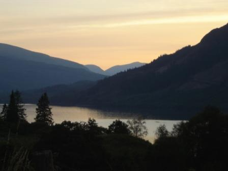 Sunset at Loch Lochy