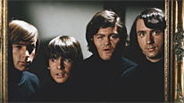 The Monkees (l-r), Peter Tork, Davy Jones, Micky Dolenz and Michael Nesmith