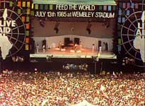 Live Aid from Wembley Stadium