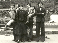 Members of Leicester's Chinese community, 1975