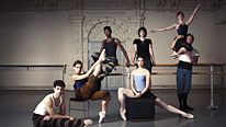 The English National Ballet dancers
