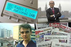 DAB Radio, Nick Robinsons, Reporting on China and newspaper pricing