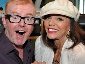 Joan Collins on the Chris Evans Breakfast Show